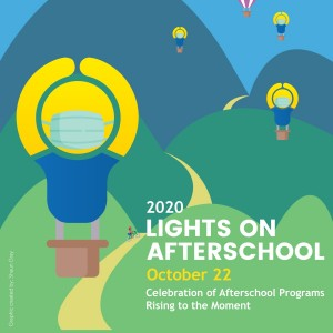 Lights On Afterschool 2020 Balloon