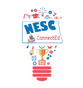 lightbulb graphic titled NESC ConnectEd